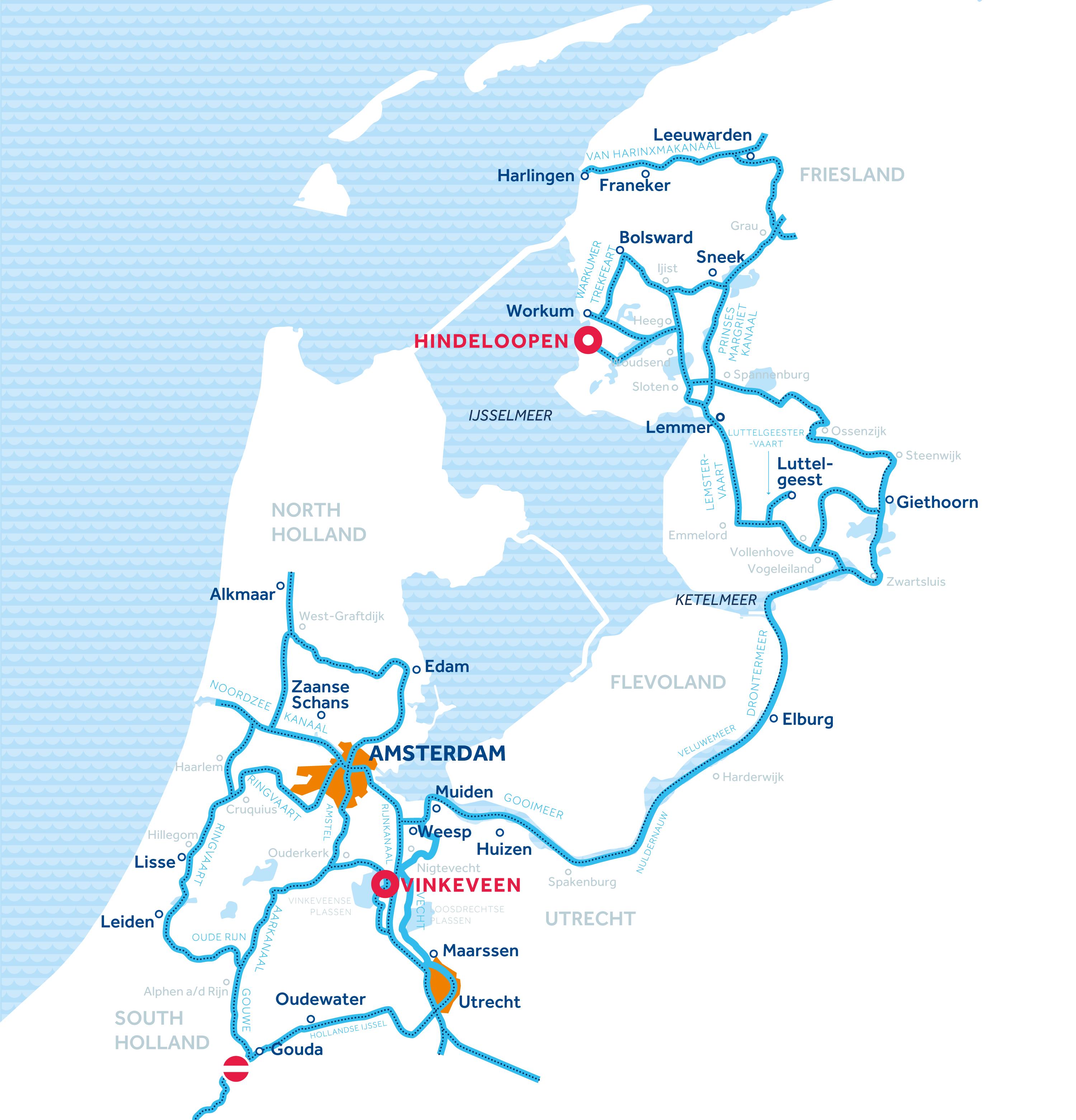 Hindeloopen map