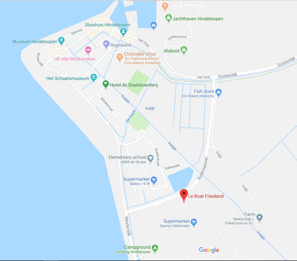 Leboat base map