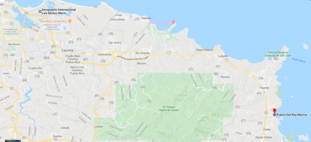 Sju to Marina Puerto del Rey