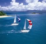 some sailing